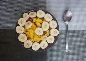 банан на завтрак