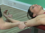 Тренировка надкостной мышцы