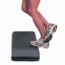 Продвинутая растяжка камбаловидной мышцы