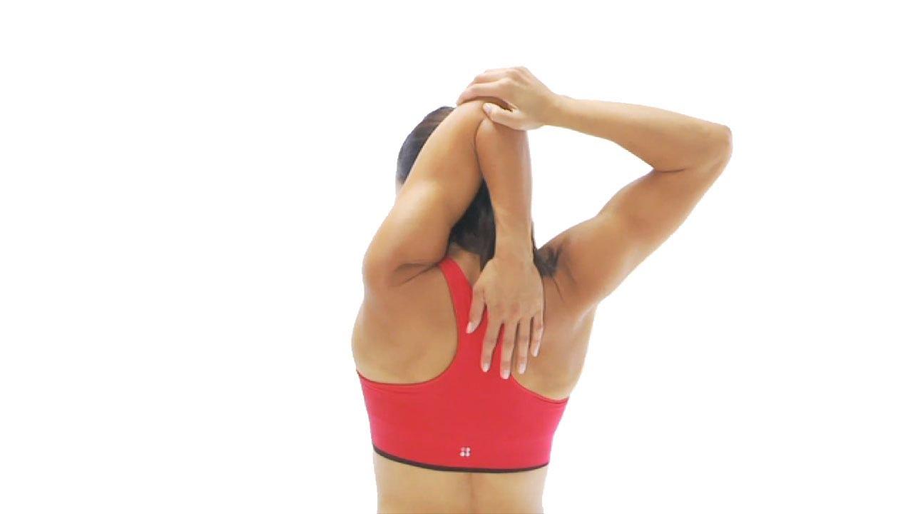 Стретчинг плечевого сустава