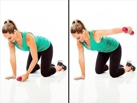 Упражнения для похудения рук и плеч - Отведение рук