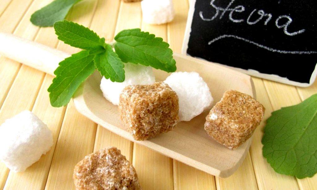 Мед сахар стевия