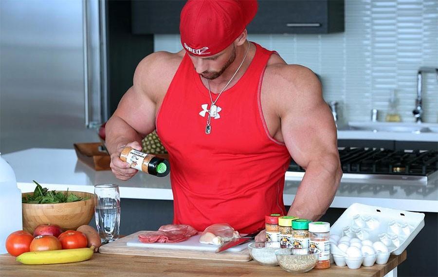 Диета бодибилдера - диета для набора мышечной массы Джея Катлера