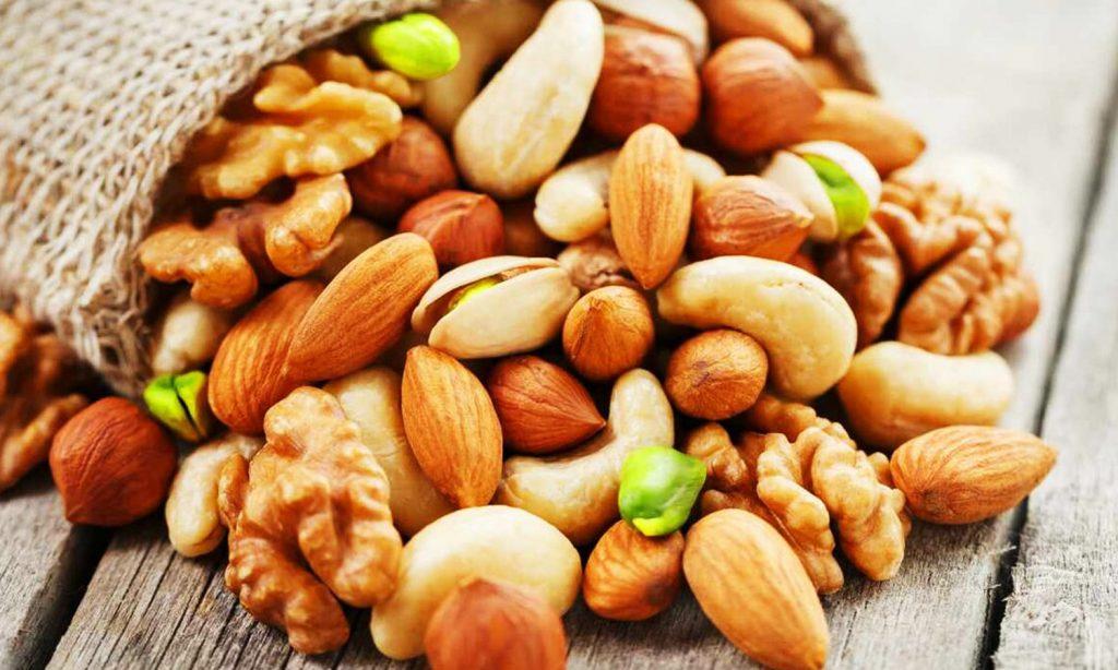 ПП перекус орехи фото