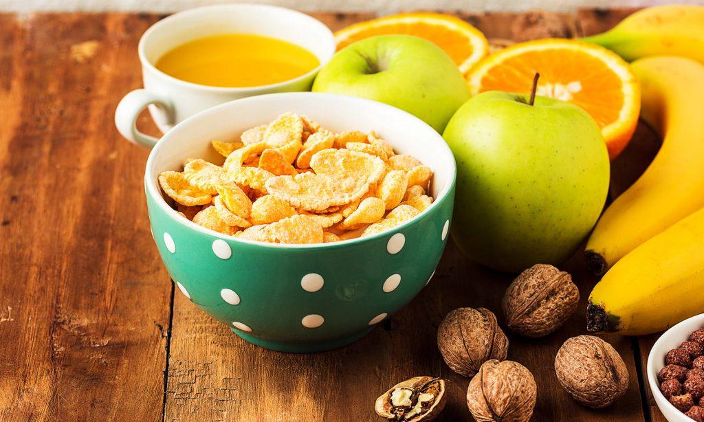 ПП питание: фрукты с орехами фото
