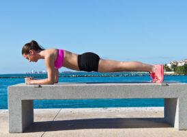 Планка для похудения для начинающих